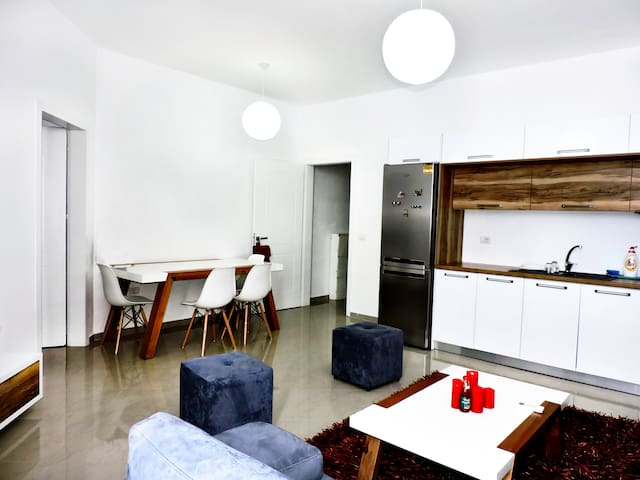 Lightful apt in the real center of Tirana, Blloku!
