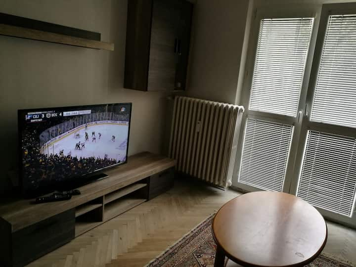 Cozy appartment with Beer Tap for real hockey fans