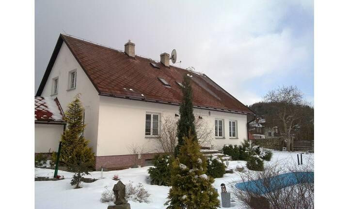 Royale villa  met privé zwembad in Novy-Bor CZ