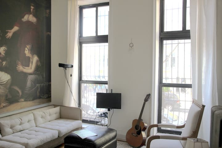 Cozy Brownstone Apartment - Brooklyn - Byt