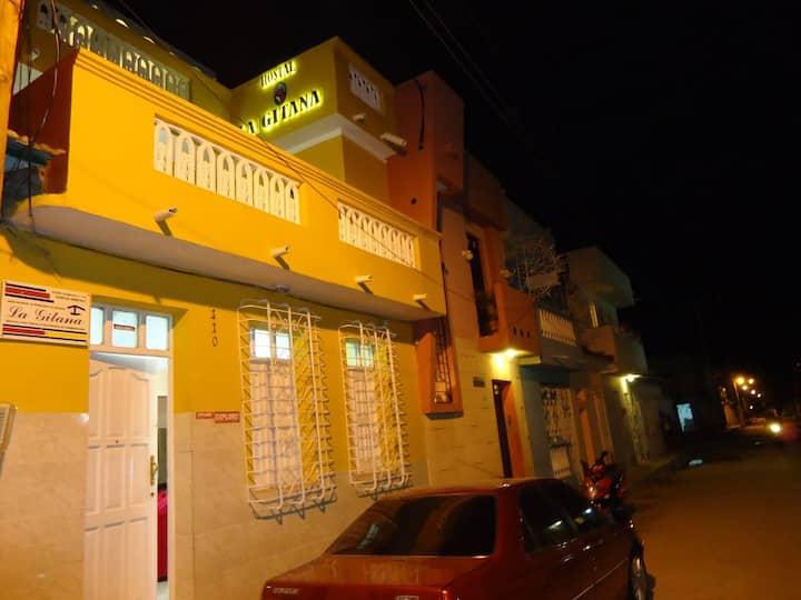 La Gitana tres habitaciones para famlia