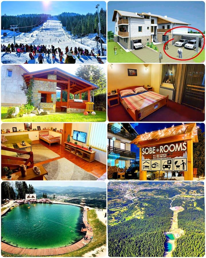 Apartmani - Vila Golijanin -Ski centar 2 km