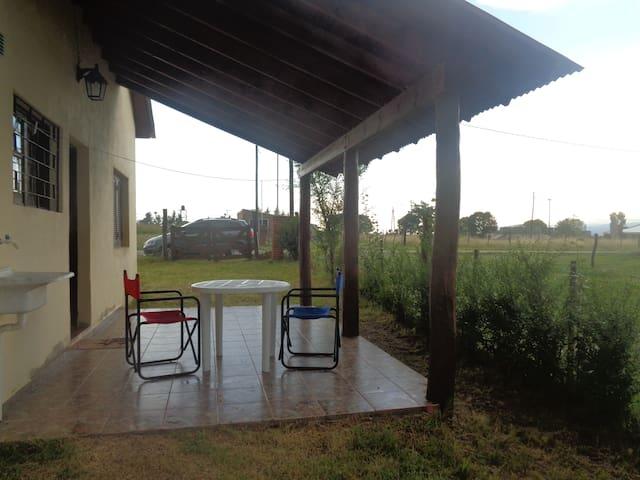 Cabaña en Villa Yacanto Cordoba para 4