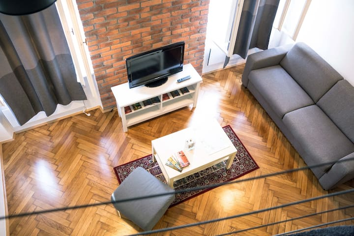 Central Square Apartment - Загреб - Квартира