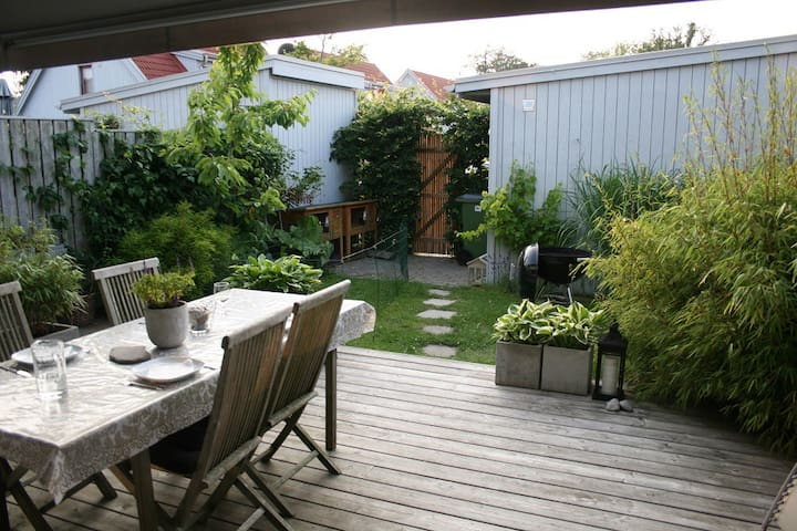 Townhouse with cozy garden - Lomma - Huis