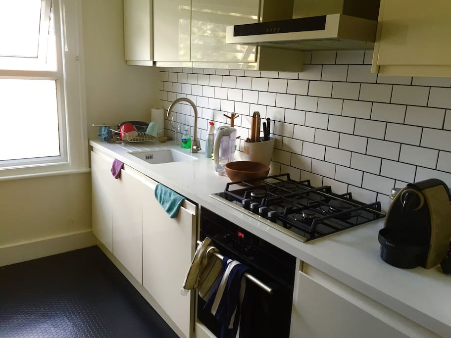 Kitchen with all the facilities you need