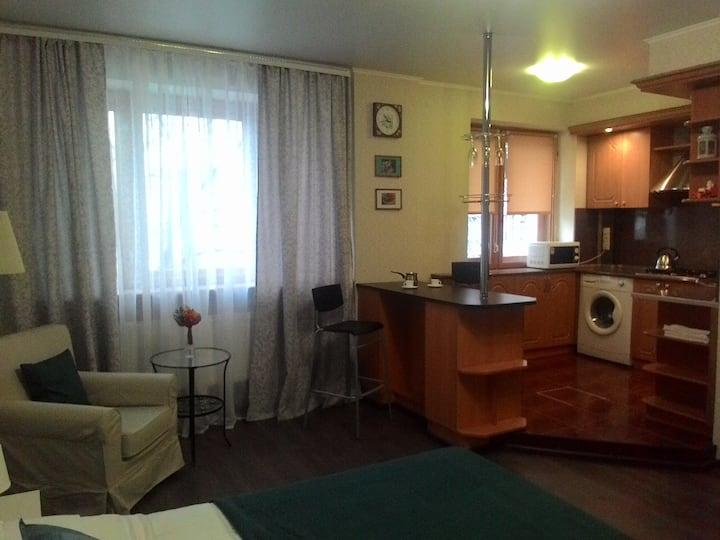 Апартаменты -студио  на пр. Б. Хмельницкого. д.79