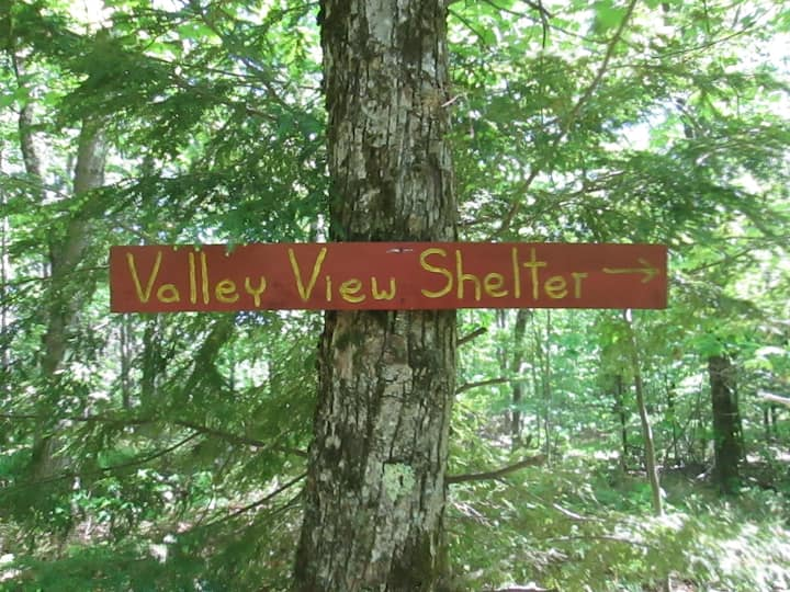 Valley View Shelter at Windblown NH