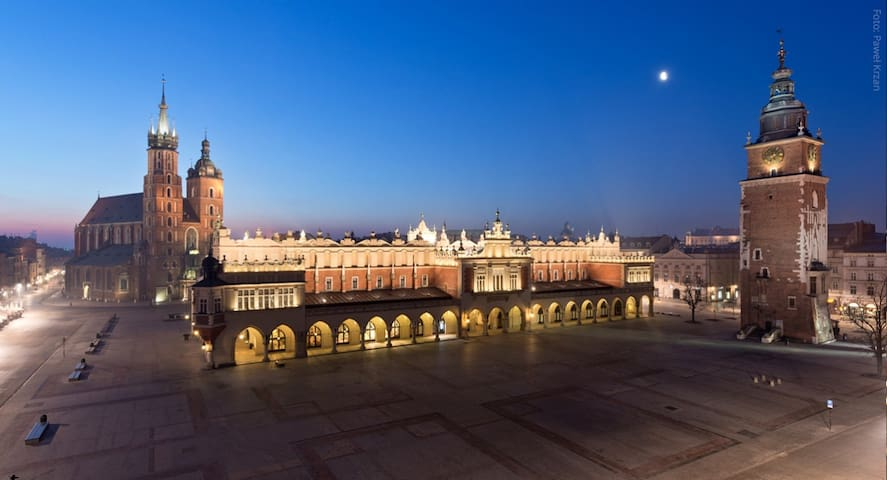 My places in Krakow