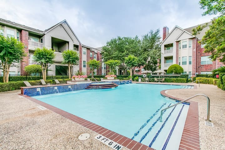 Famous City Plaza 1 BR in the Med Center/NRG Area