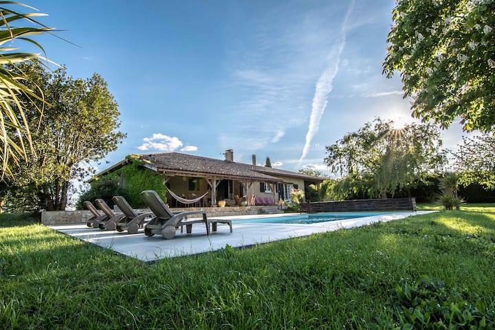 La Sabaterie - Villa de charme dans le Gers