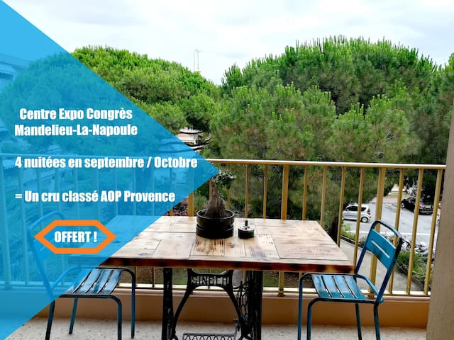 ✩✩L'atelier M88✩✩ Piscines-Plages-Terrasse-Parking