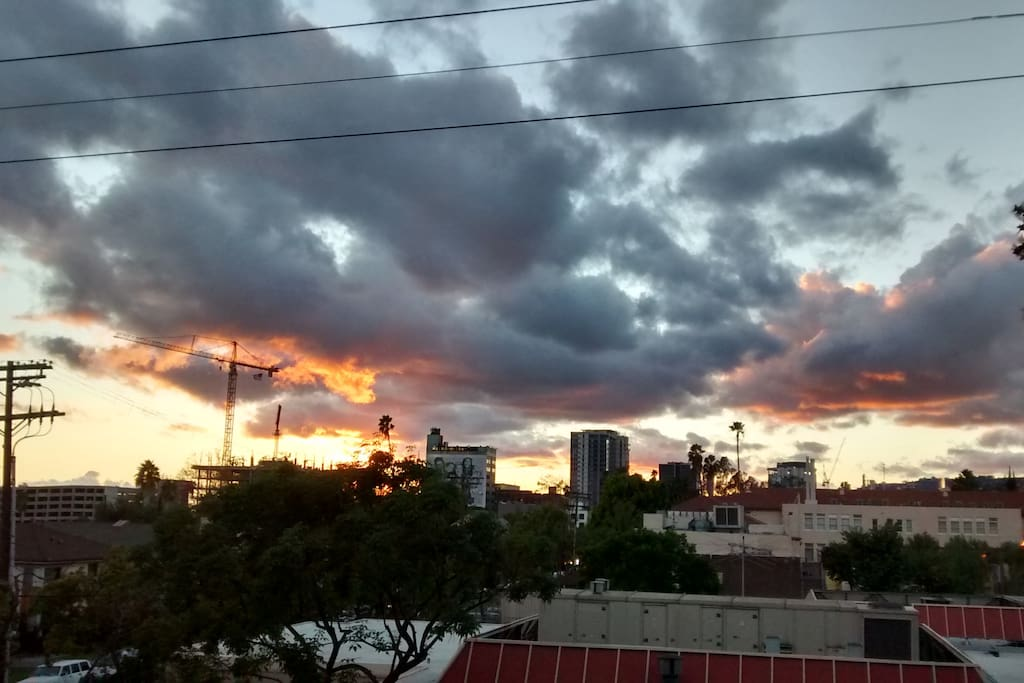The View. Hollywood Skyline (taken on Nov 15