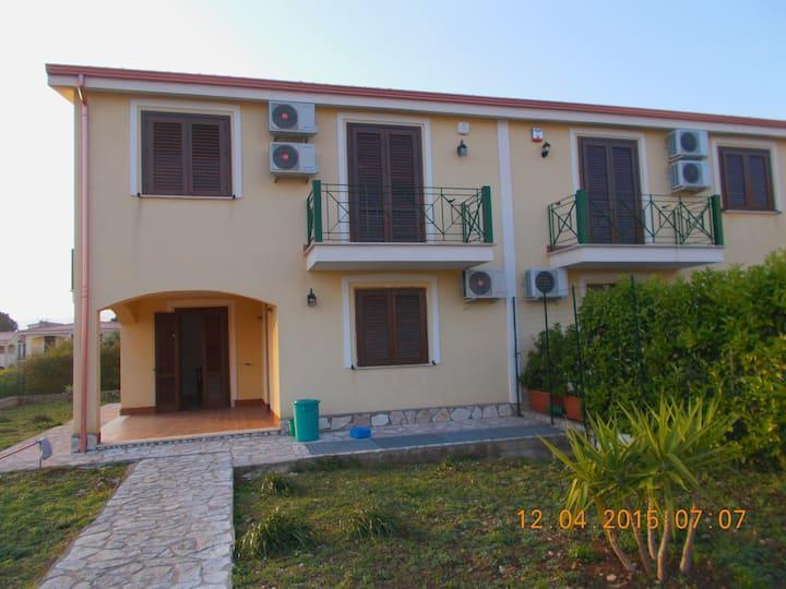 House under the Sicilian Sun