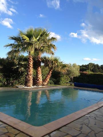 Villa d'exception avec piscine 10 mins de la plage - Villeneuve-lès-Maguelone - Dům