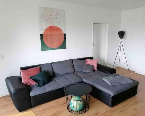 Moderne Wohnung am Rande von Osnabrück im Grünen