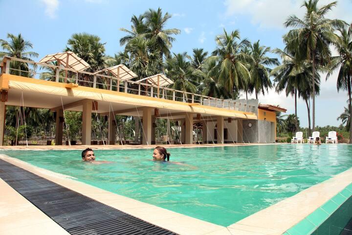 Ruwala Resort - Kalpitiya - ที่พักพร้อมอาหารเช้า