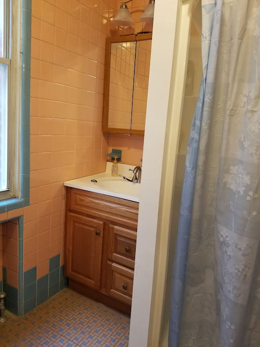2nd floor, bathroom shared