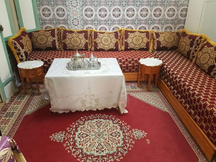 HOUSE IN THE HEART OF RABAT CITY