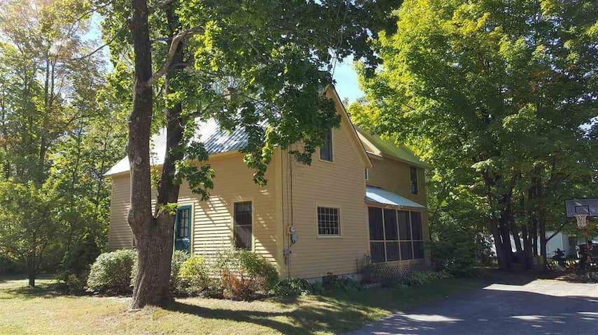 Village & Mountain View Farmhouse, hot tub, dogs