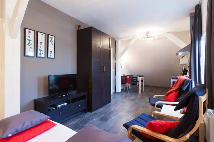 Royal appartement 1 + evt. Wellness