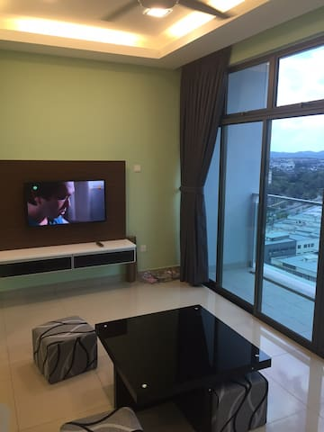 New & Quiet 1BR @ Palazio Apt in the Heart of JB - Johor Bahru - Apartamento