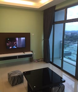 New & Quiet 1BR @ Palazio Apt in the Heart of JB - Johor Bahru