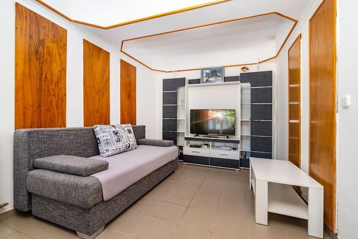 Ivica, two bedroom apartment on ground floor, Novalja