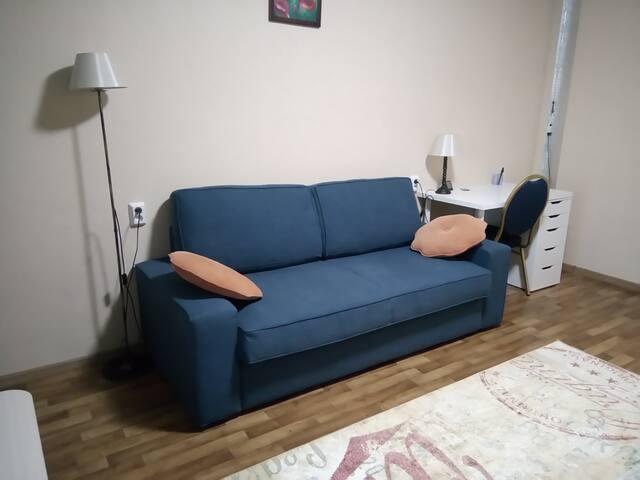 Уютная и просторная квартира на 17-м этаже