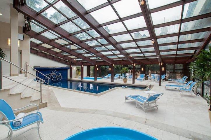 Aparthotel 5 estrelas com estrutura de Spa