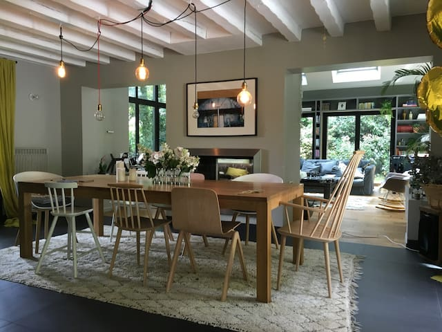 Maison architecte + Spa + Piscine - Gambais