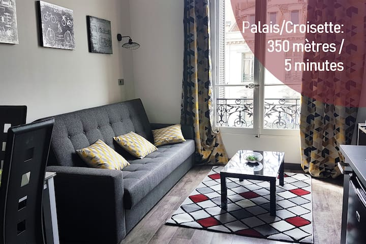 ⭐ Cozy Studio at 5 min. walk from Palais