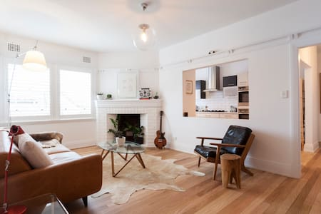 Bright & Stylish Beach Front Designer Pad - Manly - Appartement