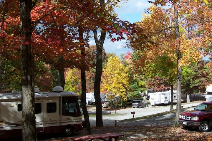 Tent & Rv Campsites in the Laurel Highlands