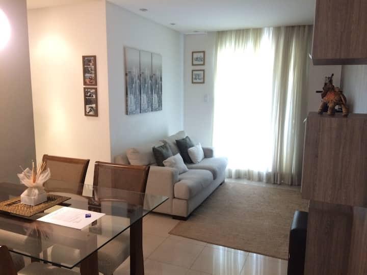 Apartamento no Jaraguá R$ 70 por hóspede Completo
