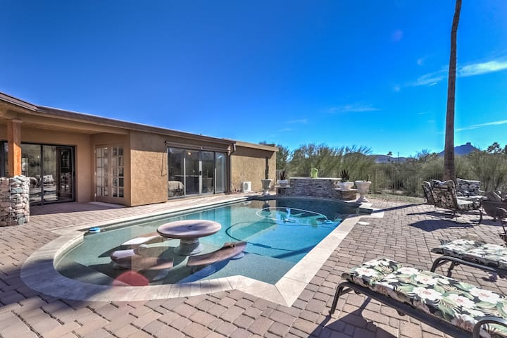 Fountain Hills Gem with Pool and Great Views!