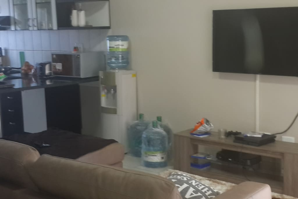 Fully furnished Lounge and kitchen