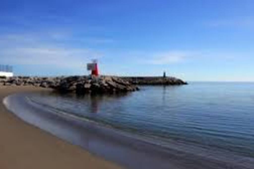 nearest beach 150 metres