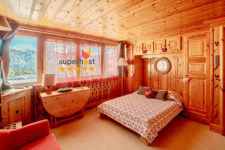 Studio with Great View Directly on the Slopes