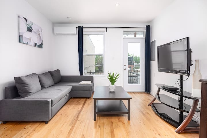 Weekly discount-Very Bright Plateau Vibe Apartment