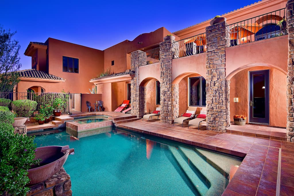 Relax and enjoy the stunning views, pool, and hot tub!