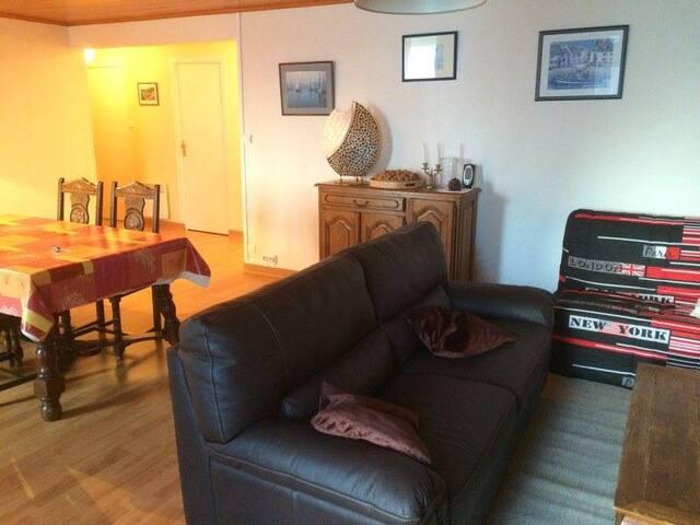 Appartement 120m2 proche Port/Plage - Loctudy - Apartamento