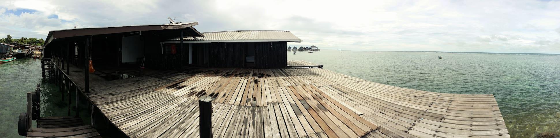 DY mabul lodge - Semporna - Alojamento ecológico