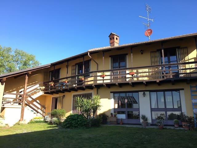 Charme e campagna a Cantalupa, 30 km da Torino - Cantalupa - House