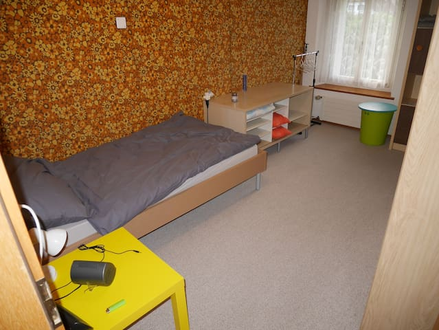 Modest room in older flat in canton Aargau