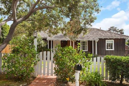 La Jolla Shores redwood beach cottage