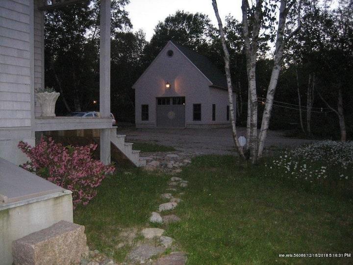 Unique Barn in a 30 acre private Peninsula