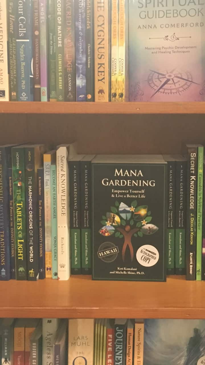Session is based on the book on MANA!