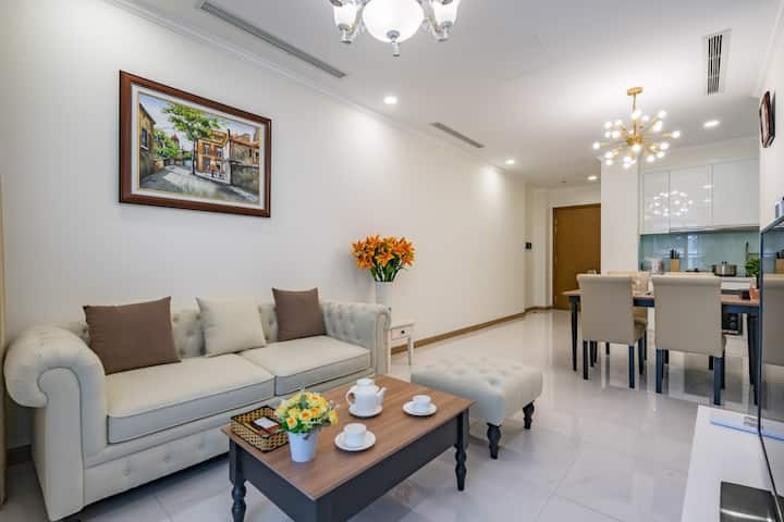 Vinhomes 1 BR, lovely & nice space for your trip