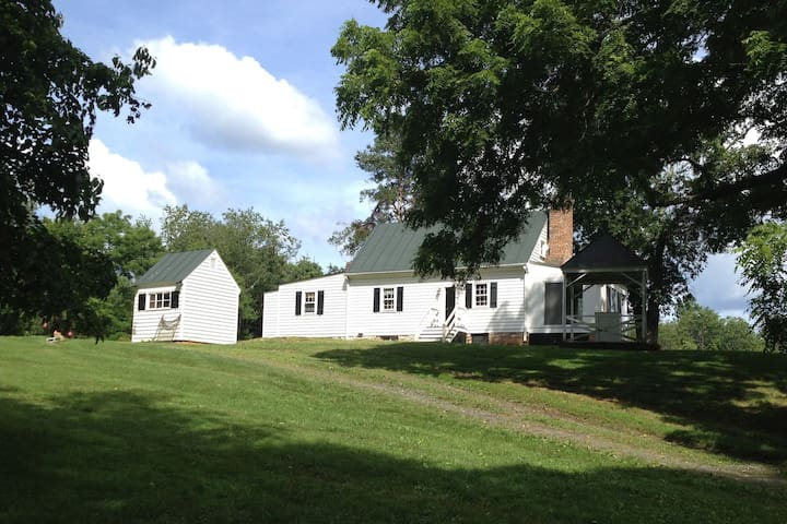 Historic House Near Charlottesville with Bunkhouse